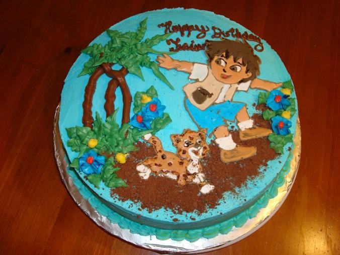 Go Diego Magdas Cakes